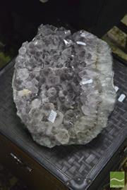 Sale 8347 - Lot 1027 - Big Chunk Amethyst Crystal