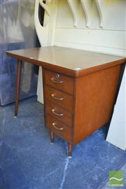 Sale 8390 - Lot 1261 - Small Retro Desk