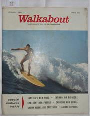 Sale 8431B - Lot 55 - Front cover and article. Champion of the Surf by Craig McGregor. Four pages in Walkabout Magazine in January 1964