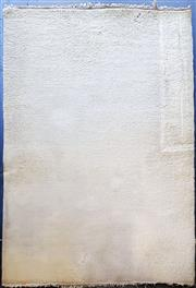 Sale 9034 - Lot 1045 - Cream Tone Woollen Rug - Some Stains (280 x 182cm)