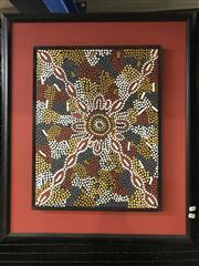 Sale 9072 - Lot 2031 - Artist Unknown Bush Ants acrylic on canvas, 67 x 57cm (frame)