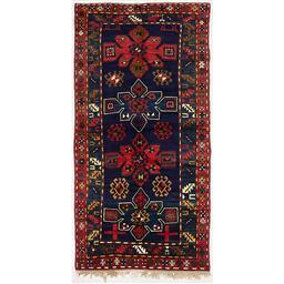 Sale 9090C - Lot 27 - Antique Caucasian Kazak, 125x255cm, Handspun Wool