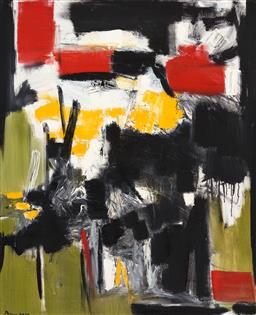 Sale 9252AD - Lot 5038 - MOKO KHACHATURYAN (1969 - ) Untitled, 2019 oil on canvas 100 x 80 cm signed and dated lower left, inscribed and dated verso