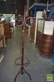 Sale 8390 - Lot 1213 - Bentwood Coatrack / Hatstand