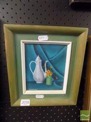 Sale 8483 - Lot 2058 - D. Kingston, Still Life, Oil, signed