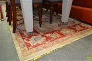 Sale 8507 - Lot 1083 - Golden Tone Floor Rug(305 x 240cm)