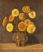 Sale 8755A - Lot 5069 - Max Boyd (1915 - 1988) - A Vase of Calendulas 45 x 37cm
