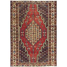 Sale 9090C - Lot 28 - Persian Antique Mazlagan Rug, Circa 1940, 190x135cm, Handspun Wool