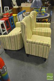 Sale 8284 - Lot 1048 - Fabric 3 Piece Lounge Suite