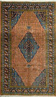Sale 8338C - Lot 9 - Persian Bidjar Sanandaj 200cm x 325cm