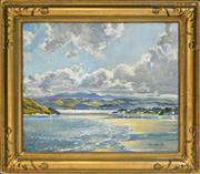 Sale 8363 - Lot 594 - Harry Marriott Burton (1882 - 1979) - Coastal Landscape 49.5 x 59.5cm