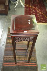 Sale 8431 - Lot 1029 - Rosewood Plant Stand