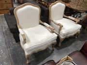 Sale 8896 - Lot 1036 - Pair Of Louis XV Style Armchairs
