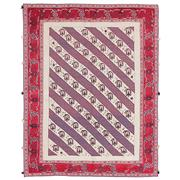 Sale 8913H - Lot 26 - Persian Fine Mixed Weave Sirjan Rug, 195x155cm, Handspun Wool