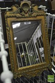 Sale 8361 - Lot 1075 - Ornate Gilt Wall Mirror