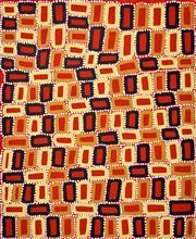 Sale 8408 - Lot 593 - Walala Tjapaltjarri (1960 - ) - Tingari 90 x 73cm