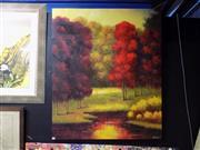 Sale 8419T - Lot 2041 - Artist Unknown (XX) - Spring Colour 119 x 100cm