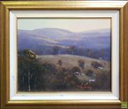 Sale 8600 - Lot 2012 - Ritchey Sealy - Landscape with Shed, Oil, SLR, 39.5x49.5cm