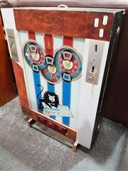 Sale 8724 - Lot 1076 - Vintage German Gaming Machine