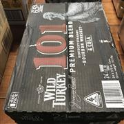 Sale 8801W - Lot 71 - 24x Wild Turkey 101 & Cola Cans 6.5%, 375ml