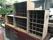 Sale 8822 - Lot 1520 - Collection of Pigeon Hole Units