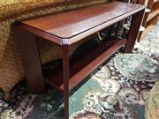 Sale 8826 - Lot 1024 - Charles Catt & Sons Jarrah Console Table