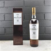 Sale 9017W - Lot 31 - The Macallan Distillers Sherry Oak Cask 12YO Highland Single Malt Scotch Whisky - 43% ABV, 700ml in bronze box