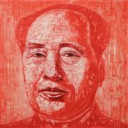 Sale 8642 - Lot 514 - Adam Chang (1960 - ) - Mao, 2011 73 x 73.5cm