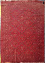 Sale 8676 - Lot 1034 - Afghan Woolen Rug (308 x 203cm)