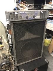 Sale 8819 - Lot 2208 - 3 Speakers: 2 Nady & 1 American Example, Plus American DJ Professional Amp. V1000