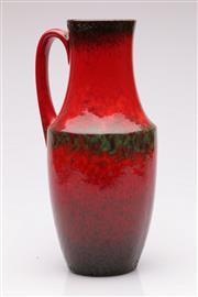 Sale 9052 - Lot 29 - A Red Glazed West German Pottery Jug H: 35cm