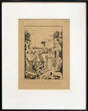 Sale 8347A - Lot 78 - William Dyson (1880 - 1938) - The Gospel of Hate 17.5 x 25cm
