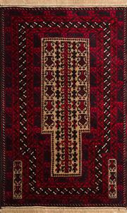 Sale 8370C - Lot 39 - Persian Baluchi 150cm x 90cm