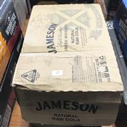 Sale 8801W - Lot 72 - 24x Jamesons & Natural Raw Cola Bottles 5%, 333ml