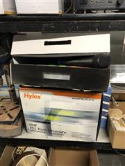 Sale 8819 - Lot 2272 - 3 Boxes of Cordless Microphones: 2 Hylex & 1 Lane