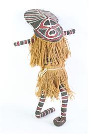 Sale 8827D - Lot 77 - Cultural PNG Figure H:50cm