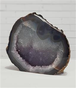 Sale 9154 - Lot 1067 - Polished crystal cave