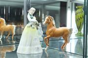Sale 8340 - Lot 36 - Beswick Horse Figure & A Doulton Figure Springtime AF