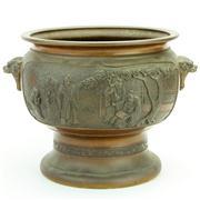 Sale 8387 - Lot 56 - Japanese Bronze Jardiniere