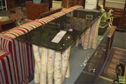 Sale 8390 - Lot 1235 - Bamboo & Glass Coffee Table