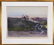 Sale 8420 - Lot 553 - Geoffrey Dyer (1947 - ) - Gordon River 57 x 75.5cm
