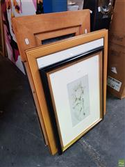 Sale 8604 - Lot 2093 - Group of (6) Decorative Prints, Framed & Various Sizes