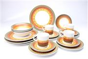 Sale 8706 - Lot 62 - Casual Ceram Galaxy Twenty Piece Stoneware Dinner Setting For 4