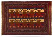 Sale 8372C - Lot 87 - A Persian Sumak Hand Woven Wool, 280 x 190cm