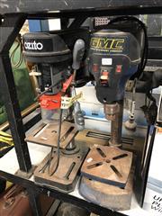 Sale 8819 - Lot 2273 - 2 Drill Presses: GMC & Ozito