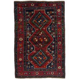 Sale 9090C - Lot 33 - Caucasian Antique Kazak, Circa 1950, 130x206cm