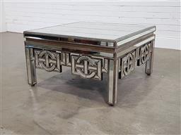 Sale 9191 - Lot 1027 - Coco Republic mirrored coffee table (h:51 x w:90 x d:90cm)
