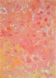Sale 8408 - Lot 592 - Polly Ngale (c1936 - ) - Bush Plum 98 x 71cm