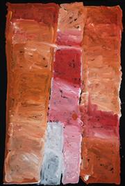 Sale 8504 - Lot 521 - Kudditji Kngwarreye (c1928 - 2017) - My Country 98 x 66cm