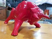 Sale 8782 - Lot 1071 - Red Ceramic Bull